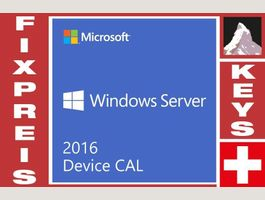 Win Server 2016 Zugriff-Device 5 CAL