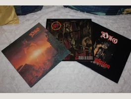 3LP Dio und Slayer Hard Rock 80er