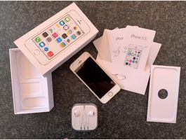 iPhone 5S 16GB (Gold / Weiss)