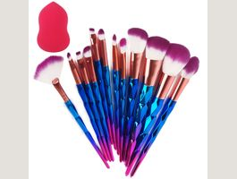 Make up Pinsel Einhorn Pinselset makeup