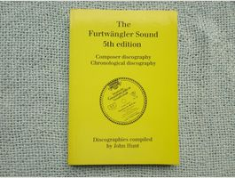 Furtwängler Sound - Discography J. HUNT