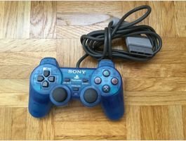 PS1 Controller Blue