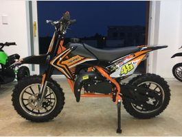 Kinder Pocket Dirt Bike Benziner 49ccm