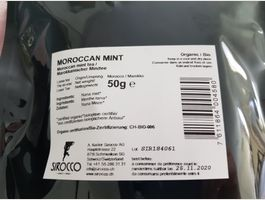 Sirocco-Tee Moroccan mint lose 50g