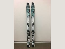 Skitour Set Damen Ski Felle Harscheisen