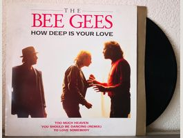 BEE GEES - HOW DEEP IS YOUR LOVE - LP