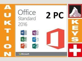 Office 2016 Standard (2 PC)