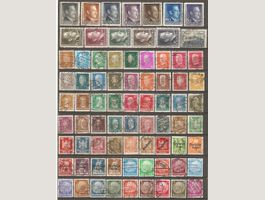 76 Timbres d'Allemagne