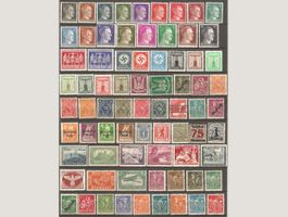74 Timbres d'Allemagne