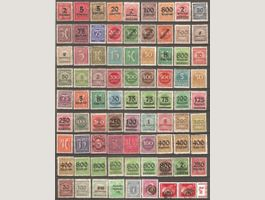 80 Timbres d'Allemagne