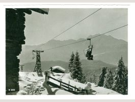 Flims - Sesselbahn - Foppa - 1946