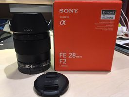 Sony FE 28mm F2.0 - top zustand