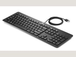 HP USB Slim Business Keyboard, Schwei...