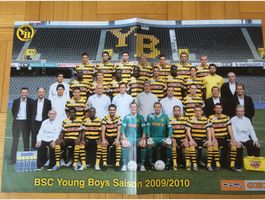 Poster BSC YB Young Boys Bern 2009/2010