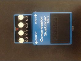 Boss Compression Sustainer CS-3 Effekt