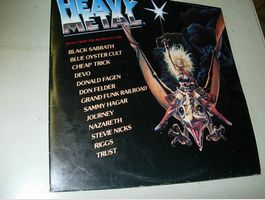 LP Heavy Metal-Music from the motion Pic