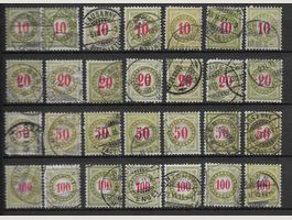 TAX01 - Lot timbres taxes