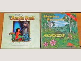 2CD's - the Jungle Book & Madagaskar