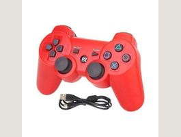 PS3 Controller Wireless Gamepad Rot