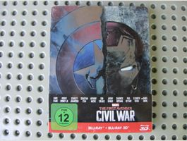 CIVIL WAR Marvel Blu-ray & 3D Blu-ray