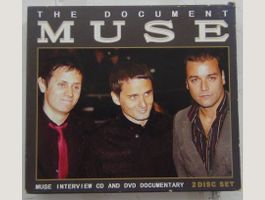 MUSE Interview CD & Documentary DVD