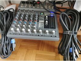 Mixer/Cons.Ana.HPA-M822FX USB+20m cables