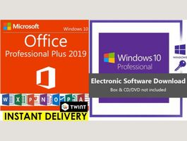 Windows 10 Pro, Office 2019 Profess.Plus