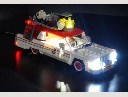 Kit led Lego75828 Ghostbusters Ecto1 & 2