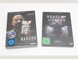 NARCOS & HOUSE OF CARDS DVD (19081901)
