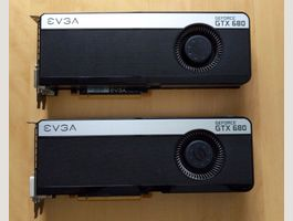 EVGA GeForce GTX 680 FTW+ 4GB Backplate
