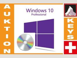 Win 10 Professional auf bootable DVD