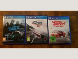 3 mal NFS Need for Speed Playstation 4