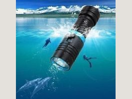 5000lm LED Diving Torch Lamp Dimming