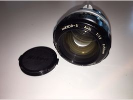 NIKKOR-S Auto 1:1.2 f=55mm Nr.211230