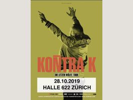 Kontra K Ticket 28.10.2019 Zürich