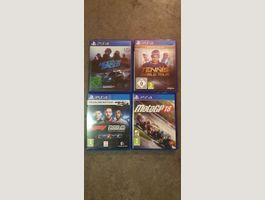 4x PlayStation 4 Games