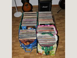 Rock, Pop, Blues LP Sammlung 476 Alben