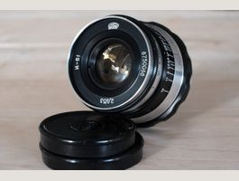 2 USSR Industar lenses with Fuji adapter