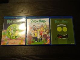 Rick and Morty Epsiodes 1-3