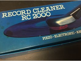 Phono Record Cleaner RC 2000 80er Jahre