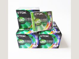 50 CD-R80 CD Recordable vierges TDK 32X