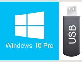 Windows 10 Pro auf bootbarem USB STICK