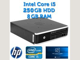 CHF 1.- HP Elite 8200 Intel i5 250GB HD