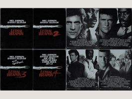 Lethal Weapon Steelbook 1-4