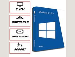 Windows 8.1 Professional 1 PC 32/64