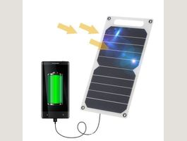 Chargeur solaire 10W - Powstro USB