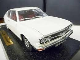 AUDI 100 COUPE WEISS 1:18 ANSON