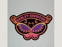 Patch Harley Davidson Schmetterling