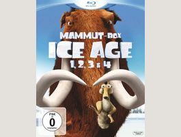 Ice Age - Box Set Teil 1-4 Box [Blu-ray]