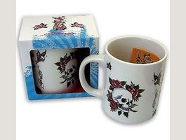 Tasse Ed Hardy - Death and roses